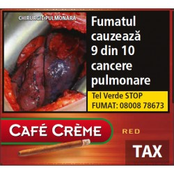 Tigari de foi Cafe Creme RED 10 buc
