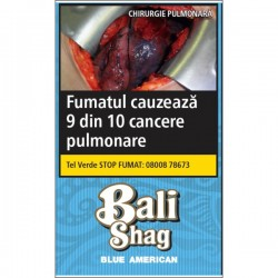 Tutun de rulat Bali Shag Blue American Blend 40G + foite