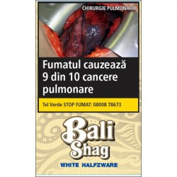 Tutun de rulat Bali Shag White Halfzware 40G + foite