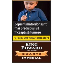 TIGARI DE FOI KING EDWARD IMPERIAL QUARTZ 5 buc