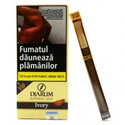 Tigari de foi Djarum Wood TIps Ivory Vanilla 5 buc