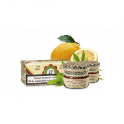 Tutun de narghilea Tuffahtain 40 gr Lemon Hemp (Lamaie si canepa) NO. 27