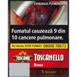 Tigari de foi Toscanello Rosso (aroma cafea) 5 buc