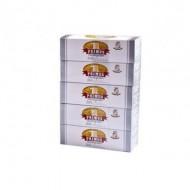 Set 5 cutii  cu 200 Tuburi tigari Primus Multifilter Carbon