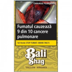 Tutun de rulat Bali Shag Yellow Virginia 40G + foite
